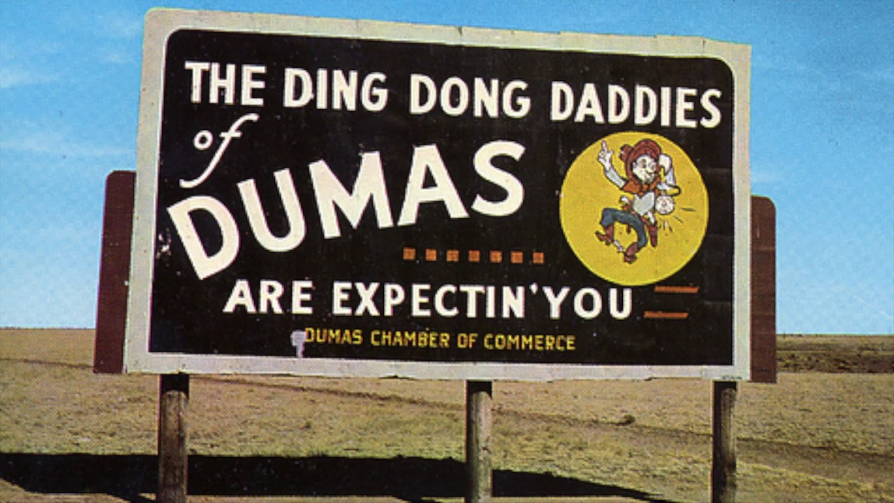 ding dong billboard